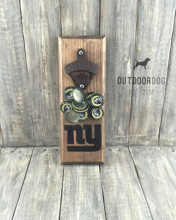 Wall mounted bottle opener with magnetic cap catcher - Bottle opener wall mount magnet ...