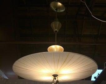 Vintage Retractable MCM 4 way Celling Light