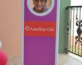 American Girl Box Photo Booth