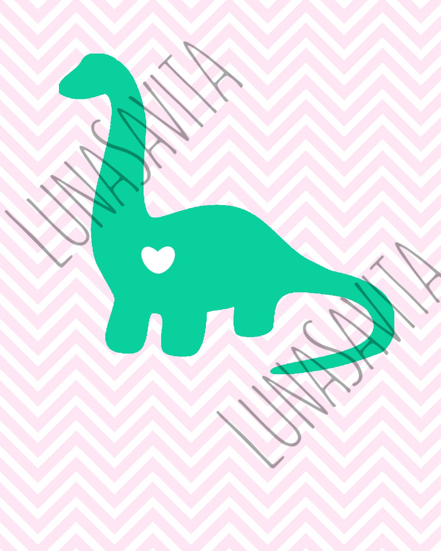 Download Dinosaur Love Design SVG DXF Files for Cricut Design Space