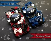 Custom Creepy Cute Decoden Phone Case / Made To Order Custom Decoden Case / iPhone Samsung Moto G iPod