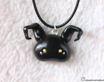 Heartless necklace from Kingdom Hearts - Cute Shadow pendant from Square Enix videogame