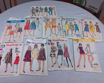 Vintage Simplicity Dress Making Patterns
