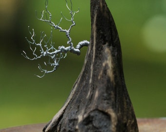 Wire Bonsai Tree - Wire Tree Sculpture - Tree of Life Sculpture