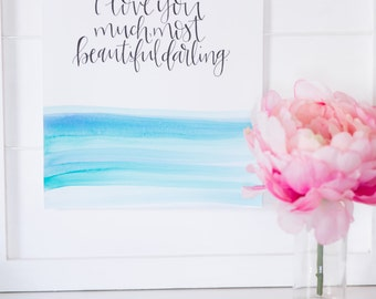 MOST BEAUTIFUL DARLING
