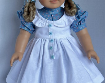 Prairie Ruffles for Kirsten and Most 18 Inch Dolls