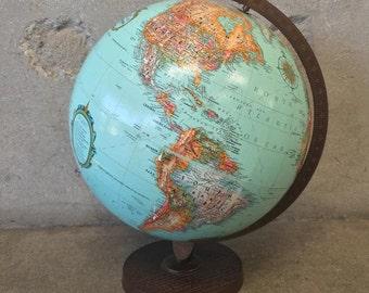 Vintage World Globe (9G2CDC)