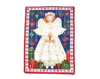 Christian advent calendar - Religious Advent Calendar - Catholic advent calendar - Christmas countdown calendar - Christmas Angel Calendar