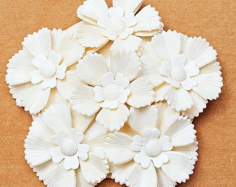 Fabulous Large Dimensional Celluloid Flower Brooch, 1930's