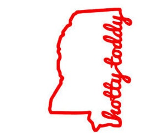 Hotty Toddy Decal