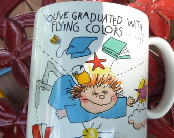 Vintage Graduation coffee mug
