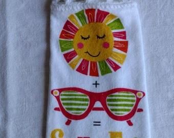 Sun & Fun Hanging Kitchen Towel