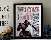Draven - League of Legends - Dictionary Art