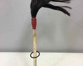 Hairpin Naga Warrior Men Bone Horse Hair Hairpin Handmade Men Warrior Hair Knot Prestige Unique Statement