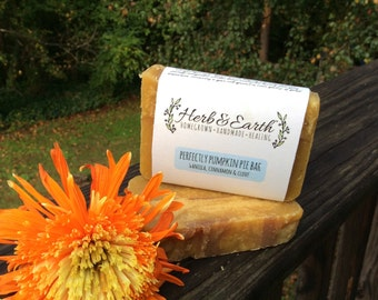 Perfectly Pumpkin Pie Bar Soap