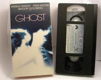 GHOST VHS tape 1990 movie Demi Moore Patrick Swayze Whoopi Goldberg
