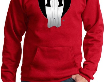 Men's Funny Hoodie After Party Tuxedo Hoody AFTERPARTY-PC90H
