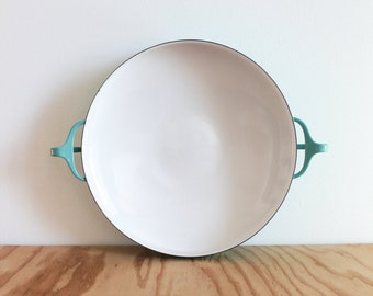 Dansk Turquoise Kobenstyle Large Paella Pan