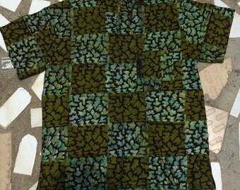 Short Sleeve Batik Shirt