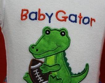 Boys Gator outfit, Baby Gator Boy outfit, UF, University of Florida Gators outfit, Boys Gator shorts,Boys Gator bodysuit,Boys Gator bodysuit