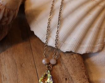 Swarovski drop Necklace