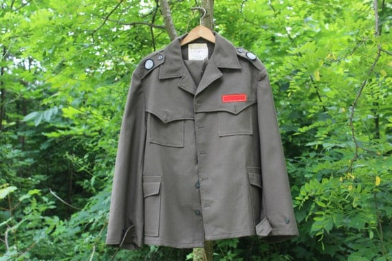 Militär Uniform Military-Jacke Armee-Jacke und Hose