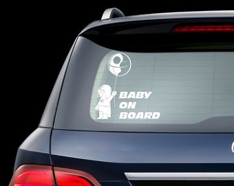 Baby On Board Decal Star Wars Baby On Board Sticker Darth Vader For Rally Race Car Truck Window