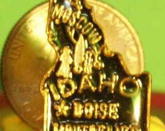vintage Idaho hat pin and pin back  == 158
