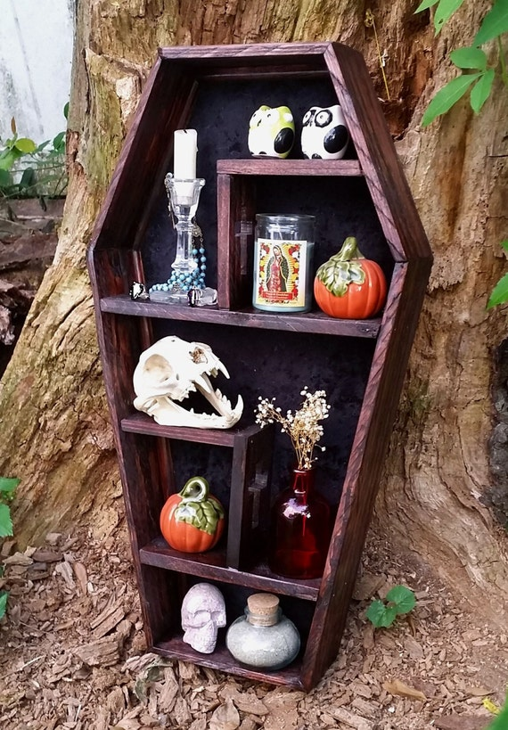 Coffin Shelf Cubby