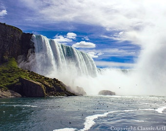 Digital Download, Niagara Falls, Landscape Photography, Landscape Photo, Nature Photography, Waterfall Photo, Fine Art Photography