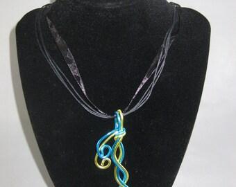 Waved Zig-Zag Necklace
