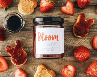 BLOOM  (Strawberry + Balsamic Vinegar Jam)