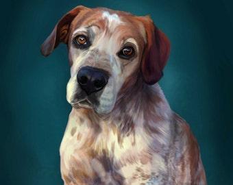 Custom Pet Digital Portrait
