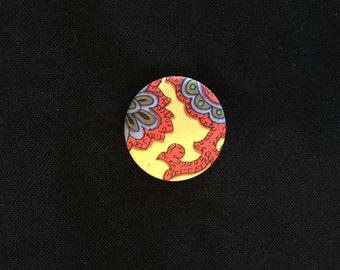 Vintage Bohemian Cloth Pin