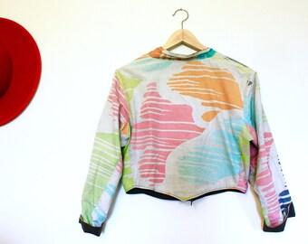Cropped Reversible Summer Jacket