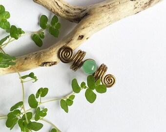 Jade Dreadlock bead