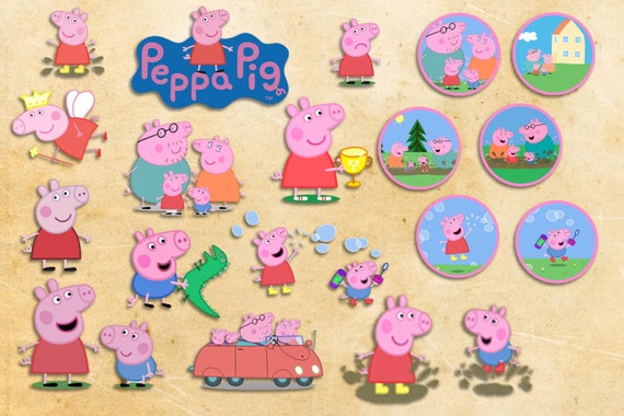 ... pig birthday peppa pig party files peppa pig cupcake toppers peppa pig