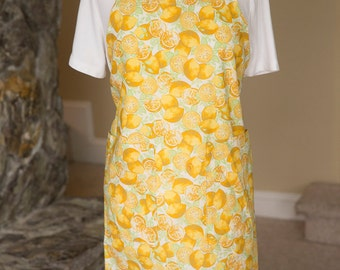 Apron Lemons Print