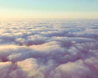 Photograph above the clouds / Above Clouds Fine Art Photography / Printed Photography