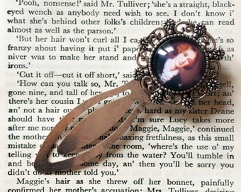 George Elliot Bookmark - George Elliot Gift, Classic Literature Gift, Author Bookmark, Gift For Reader, Book Lover, Bibliophile Bookmark
