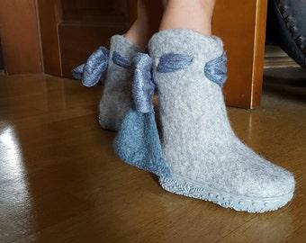 """felted boots """"Сutie"""""""