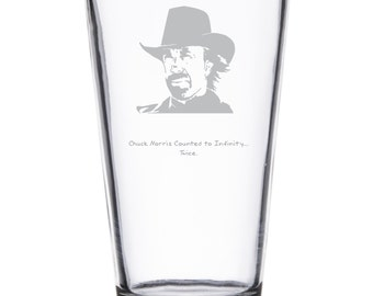 Chuck Norris Facts - Glassware of Champions