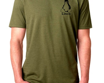 Linux Tux Logo Geek T-Shirt