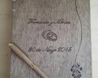Guestbook, book signatures, signatures wedding book
