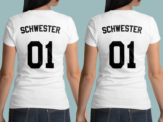schwester t shirts sister 01 shirt geschwister shirts. Black Bedroom Furniture Sets. Home Design Ideas