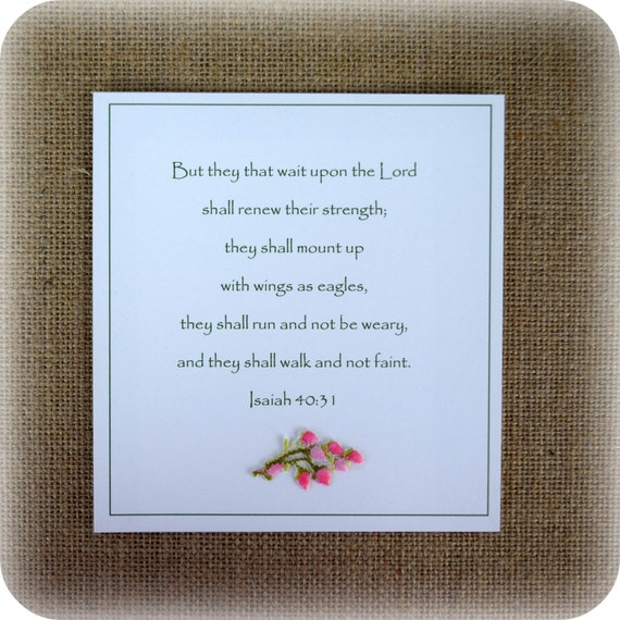 Get Well Scripture Quotes: Christian Encouragement Card Get Well Card Suitable For