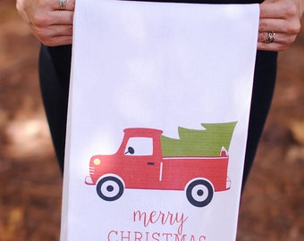 Merry Christmas Kitchen Towel, Christmas Gifts, Christmas Decorations, Kitchen Decor, Holiday Decor, Xmas Decorations, Christmas Party