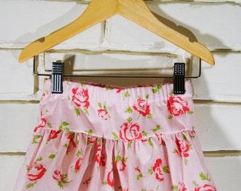 Double  Ruffle Skirt - Rose (XS)