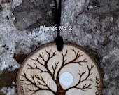 Pyrographed Tree of life wall plaque, decoration, hanging, Yggdrasil, OOAK, protection charm, blessing, house warming, Pagan, Magic