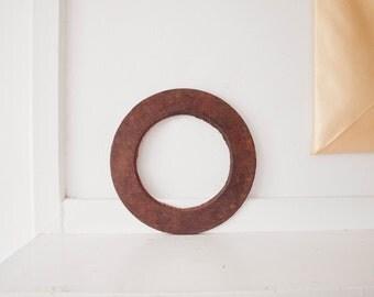 Vintage Rustic Iron Circle